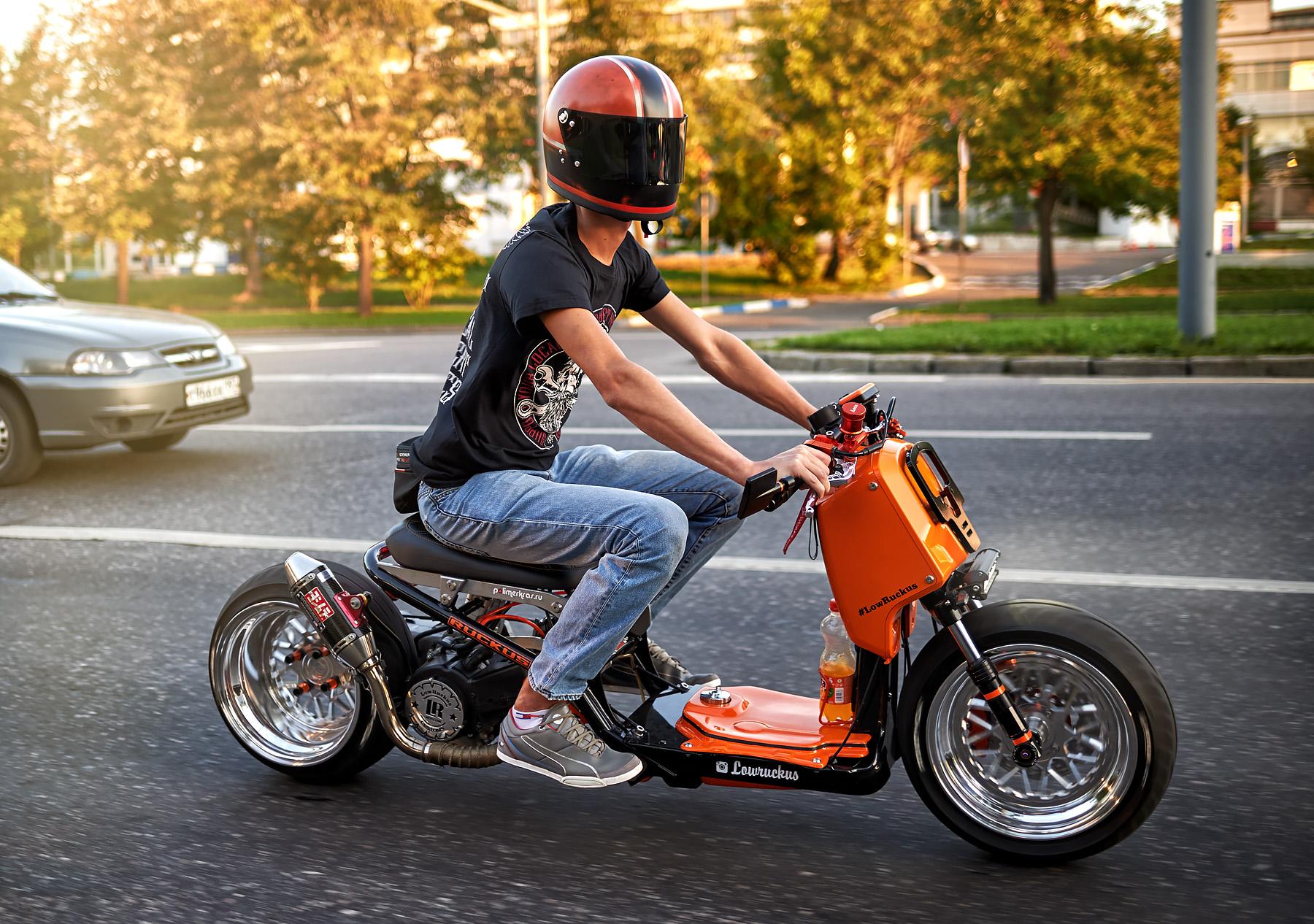 приведены кастом скутеры фото монтаж