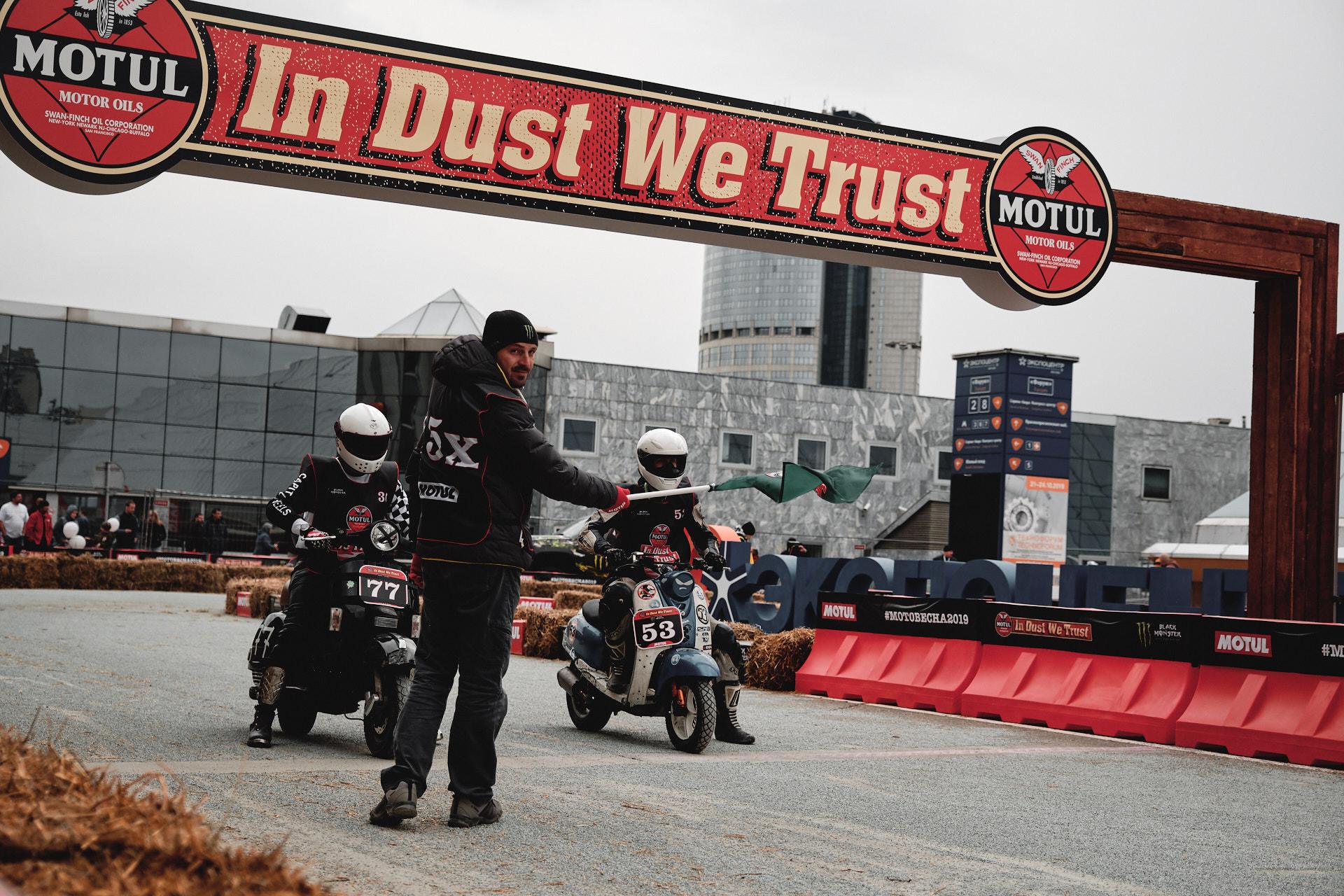 Мотовесна 2019 FlatTrack Motul In Dust We Trast