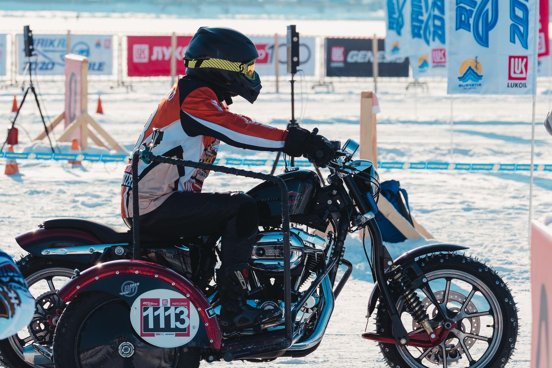 Байкальская Миля 2020 - Тимошенко Виталий Harley Davidson Spotster 2015 HOG Ekaterinburg