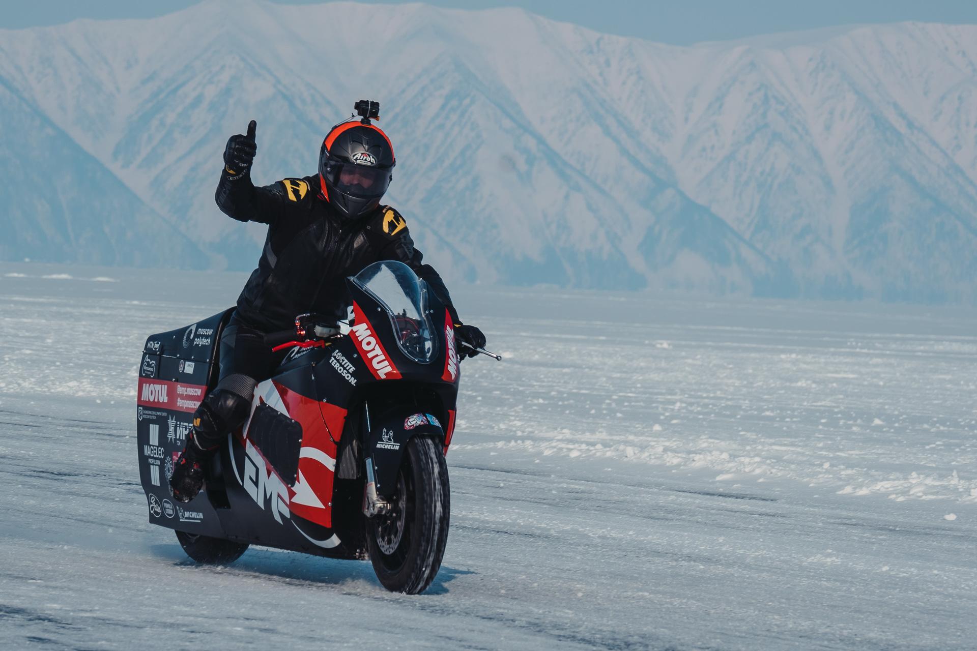 Байкальская Миля 2020 - Михин Михаил Электромотоцикл EMP MiG EMP (Московсксий политех)