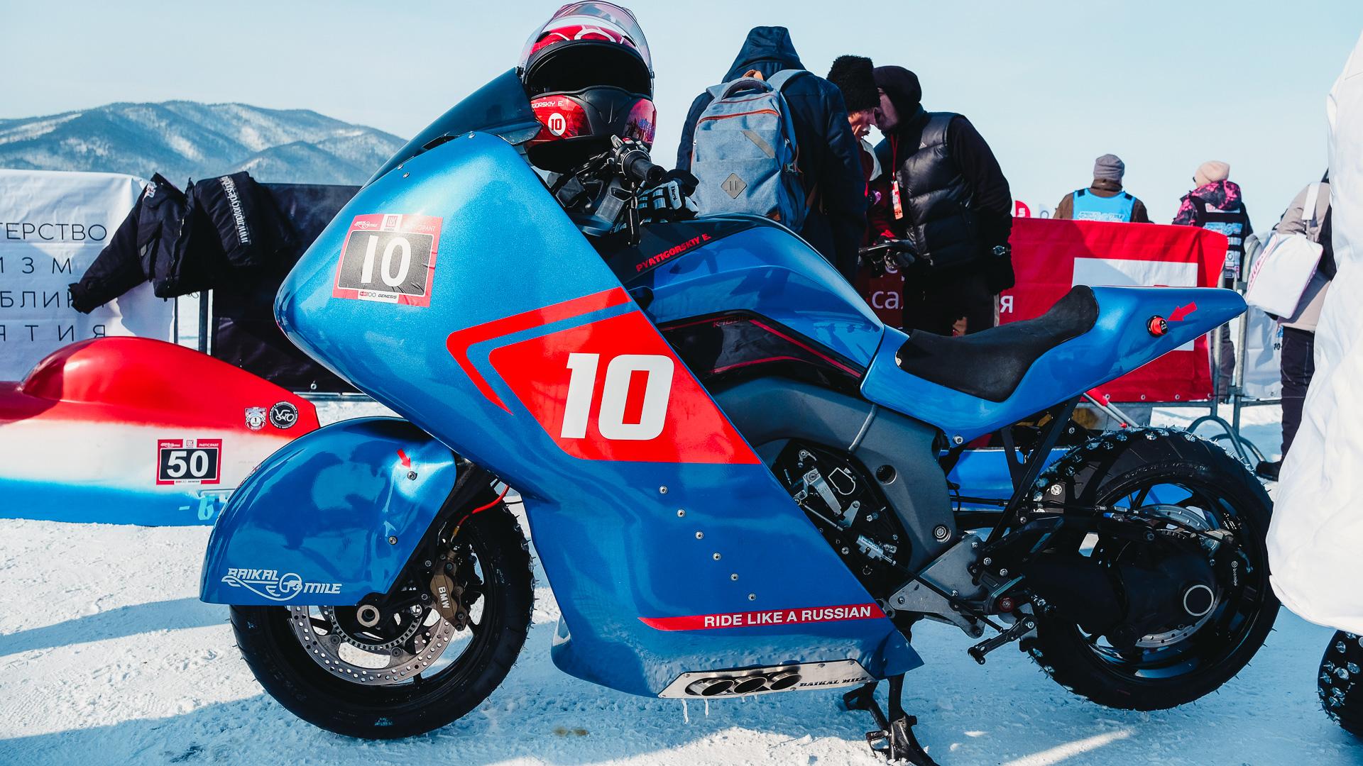 Байкальская Миля 2020 - Пятигорский Евгений Владимирович BMW K1600GT 2019 BMW ICE TEAM