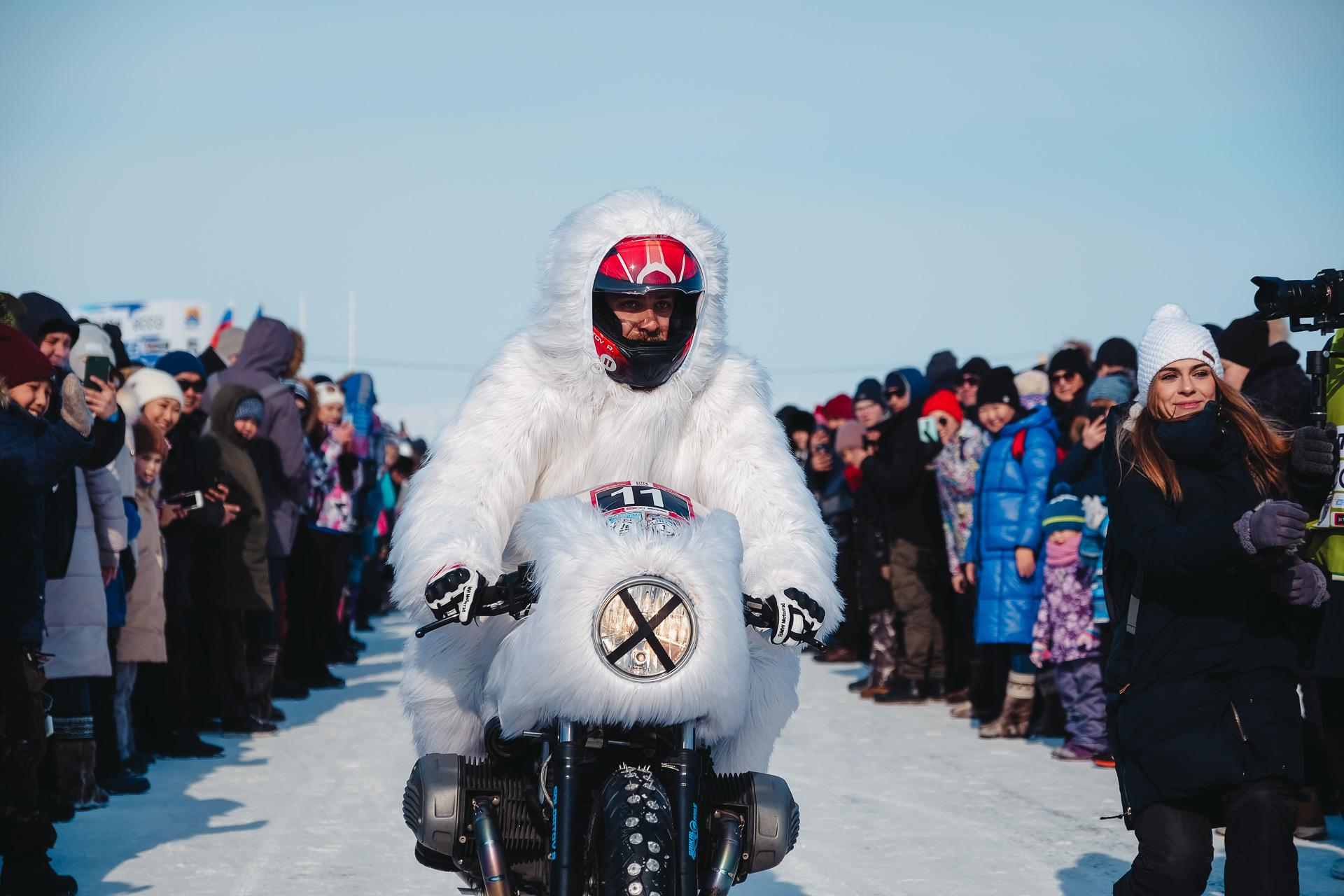 Байкальская Миля 2020 - Солдатов Роман Дмитриевич BMW R Ninet 2018 BMW ICE TEAM