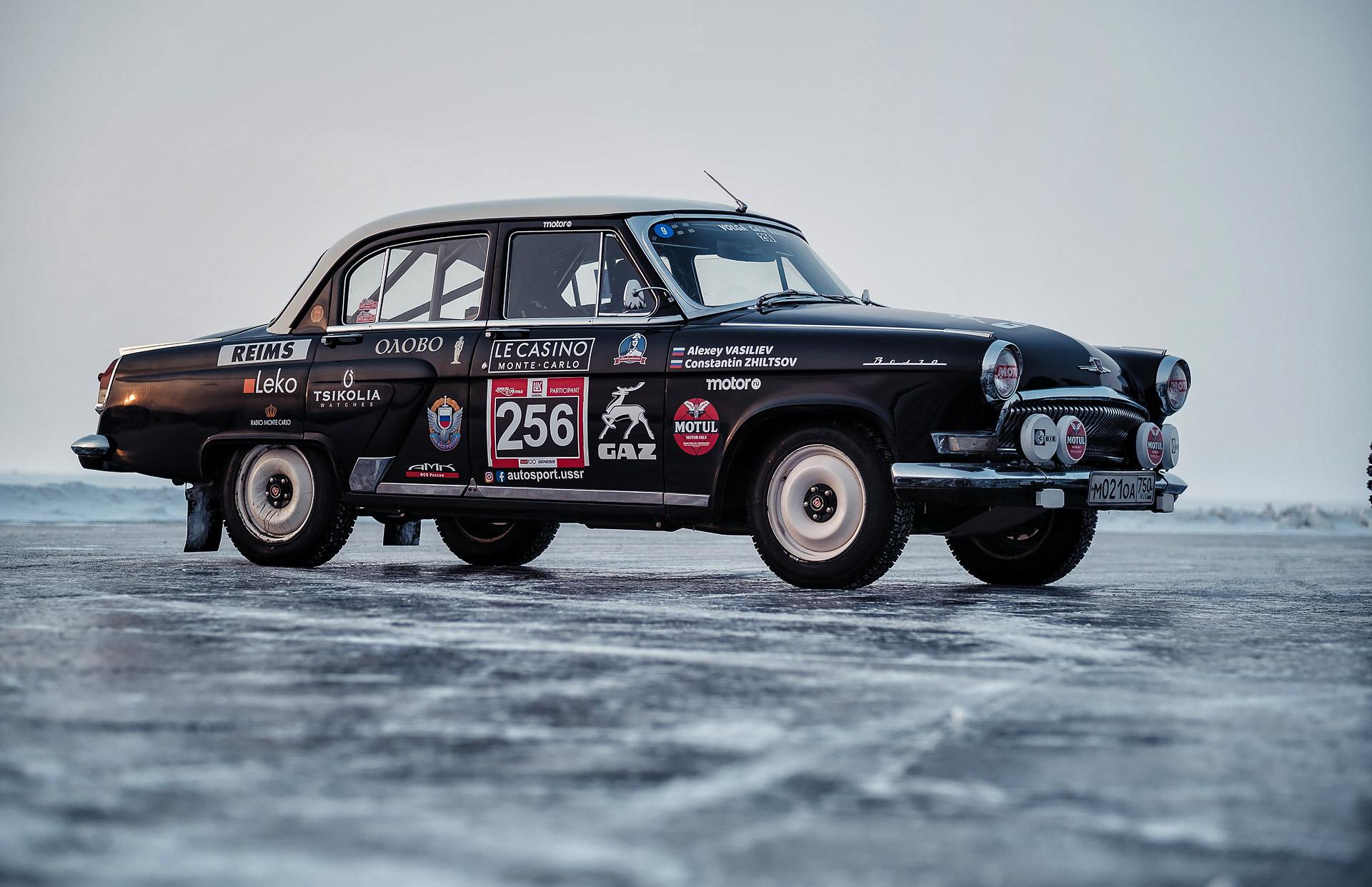 Байкальская Миля 2020 - Волга ГАЗ21 Motul