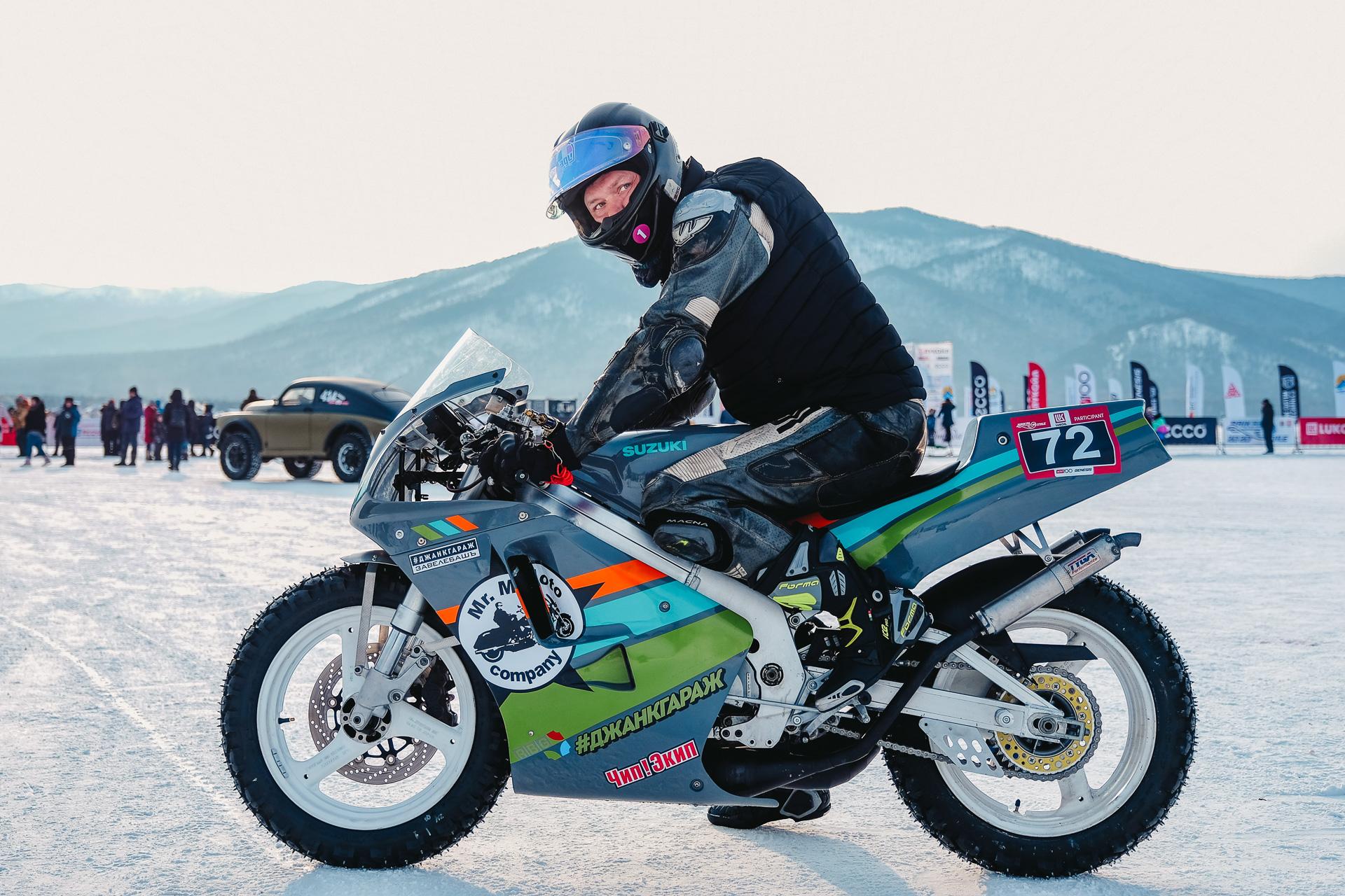 Байкальская Миля 2020 - Снегоцкий Николай Suzuki RGV Gamma