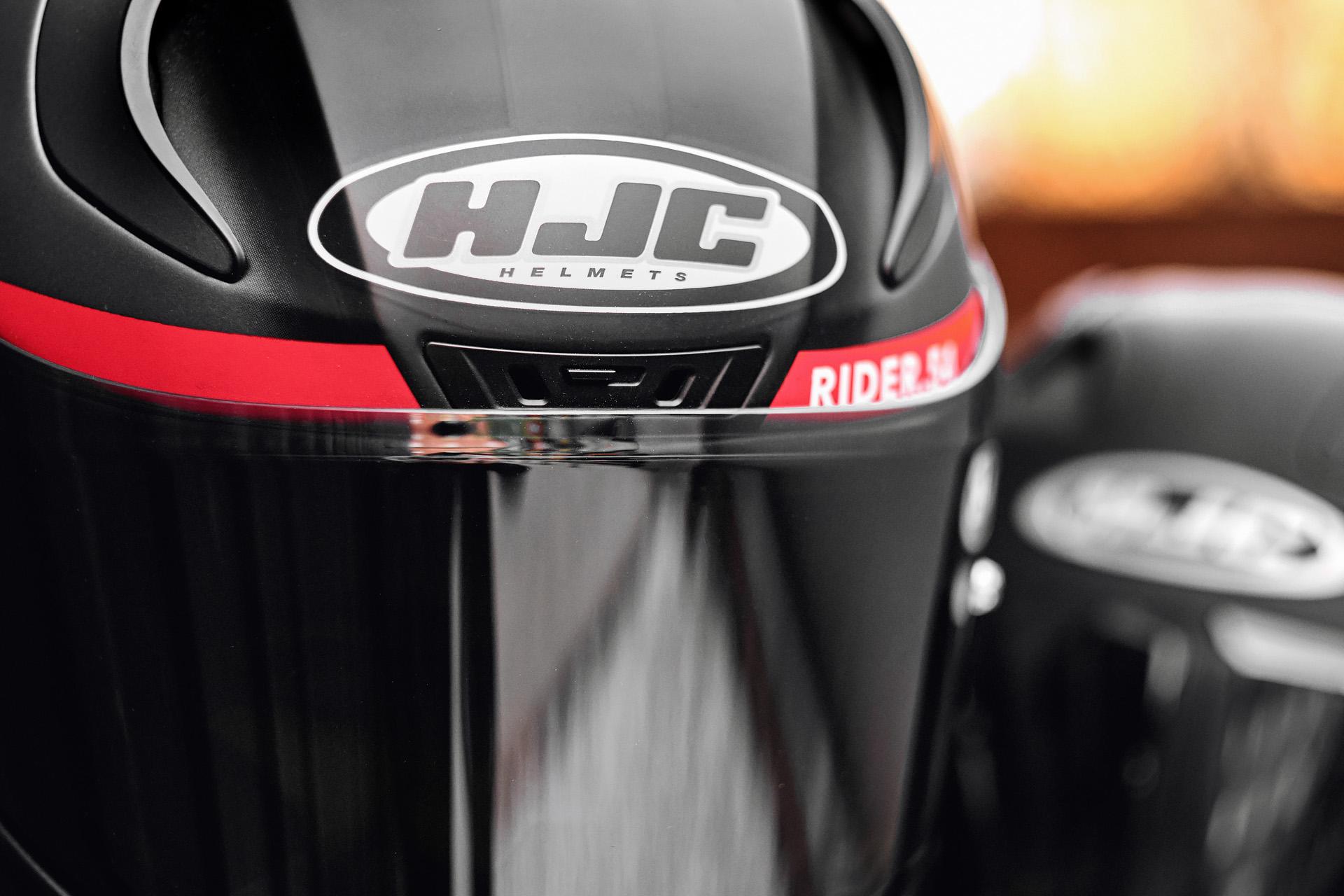 RIDER.54 AND DARI_RR HJC Helmets
