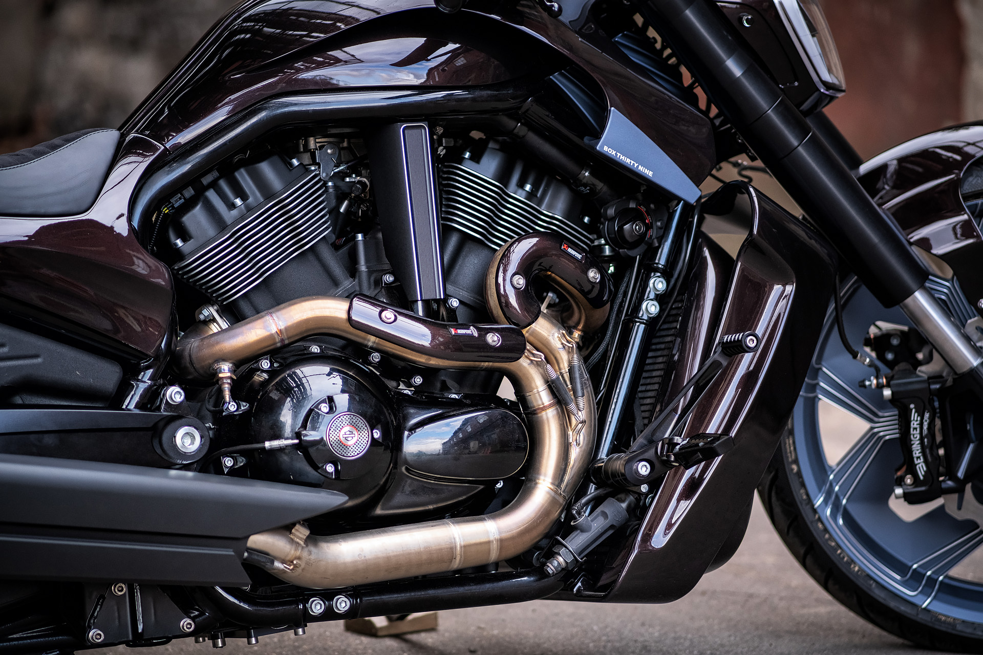 Harley Davidson V-Rod Custom box39 Giotto 2