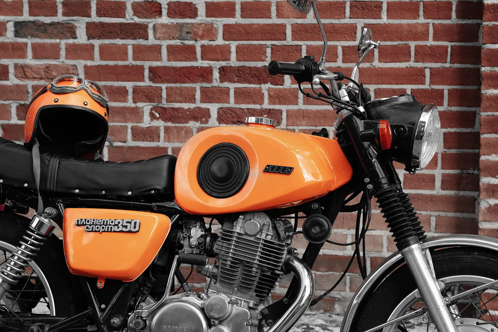 Рестомод Иж Планета Спорт на базе Yamaha SR400